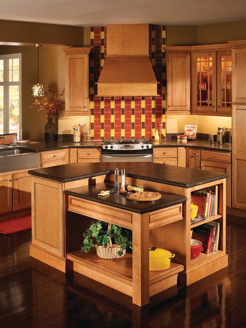 Solid Wood Kitchen Cabinets Houzz