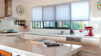 Honeycomb blinds and Sheers