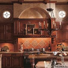 Mediterranean Kitchen by Jeff Gilman Woodworking Inc.