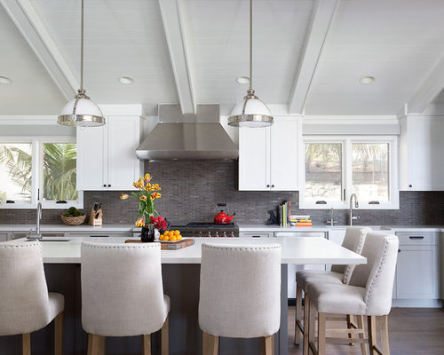 kitchen island and chairs island chairs houzz 4972