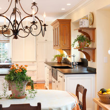 Traditional Kitchen by AJ Margulis Interiors