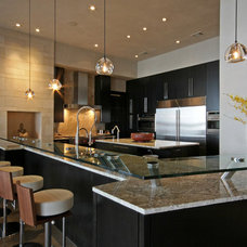 Kitchen by Cornerstone Architects