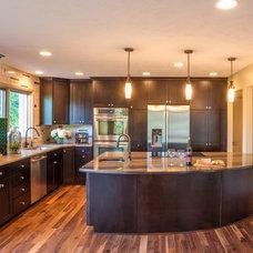 Transitional Kitchen by Nate's Custom Renovations