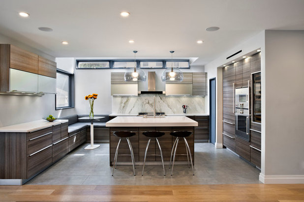 Contemporary Kitchen by Rodriguez Studio Architecture PC