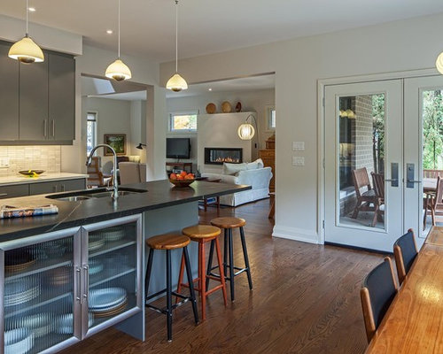 Semi Open Kitchen Houzz