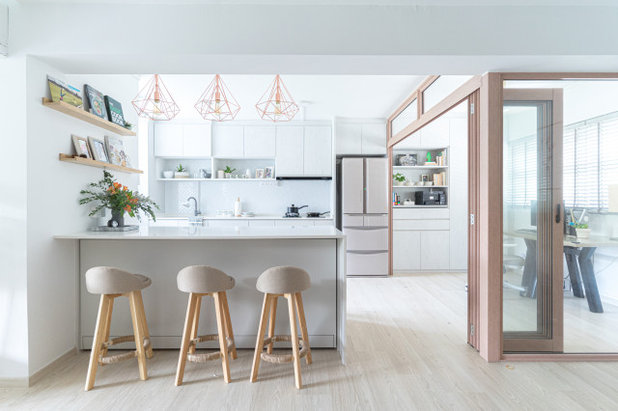 Contemporary Kitchen by STYLEDBYPT - STYLED BY PRISCILLA TAN
