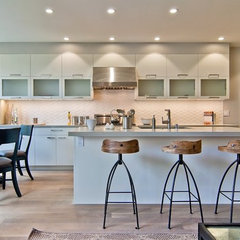 contemporary kitchen by EAG Studio