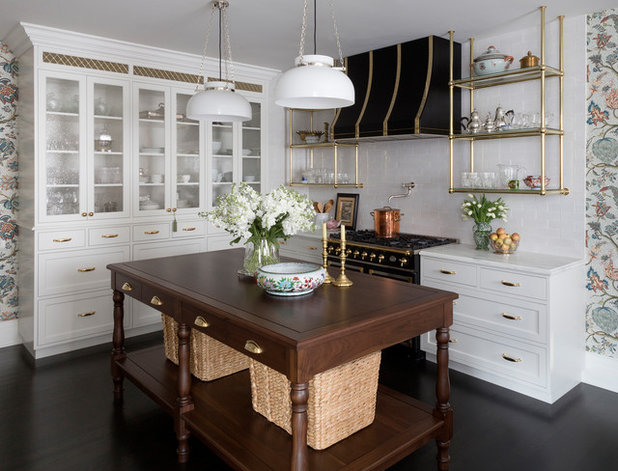 Traditional Kitchen by Summer Thornton Design, Inc