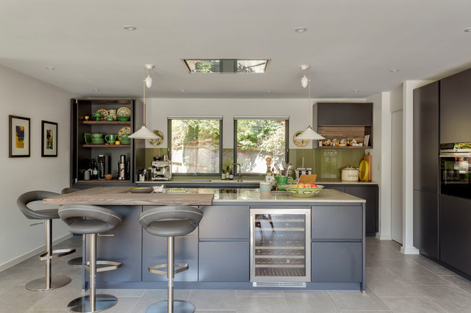 Contemporary Kitchen by Penton Architects