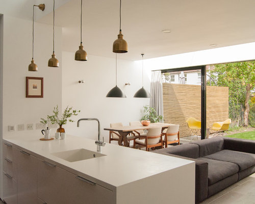 Pendant Lights Over Peninsula Home Design Ideas Pictures