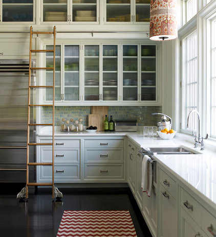 Transitional Kitchen by Anik Pearson Architect, P.C.