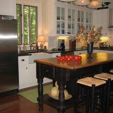 Traditional Kitchen by Burke Coffey Architecture Design Inc.