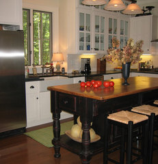 traditional kitchen by Burke Coffey Architecture Design Inc.