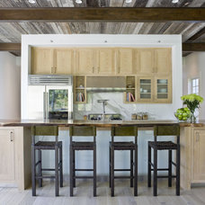 Rustic Kitchen by Beinfield Architecture PC