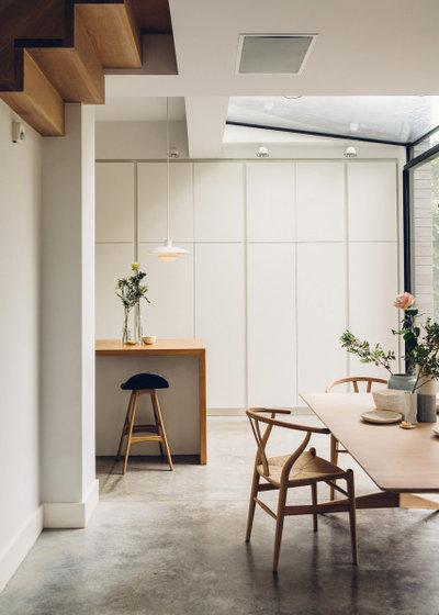 Contemporary Kitchen by Works Architecture Ltd.