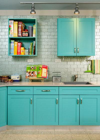 8 fa ons de sublimer sa cuisine avec des couleurs pastel - Cuisine couleur pastel ...