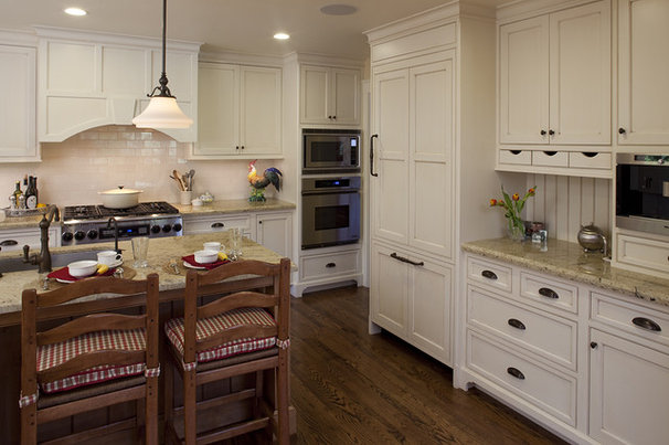 Rustic Kitchen by Julie Williams Design