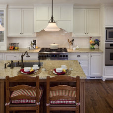 Farmhouse Kitchen by Julie Williams Design