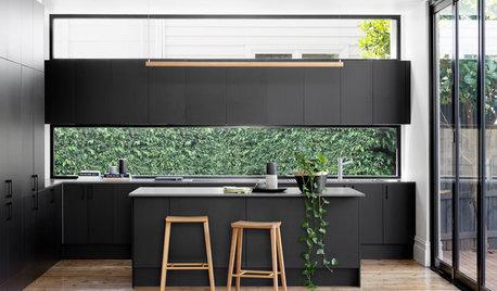 11 idées de crédences pour sublimer les cuisines noires