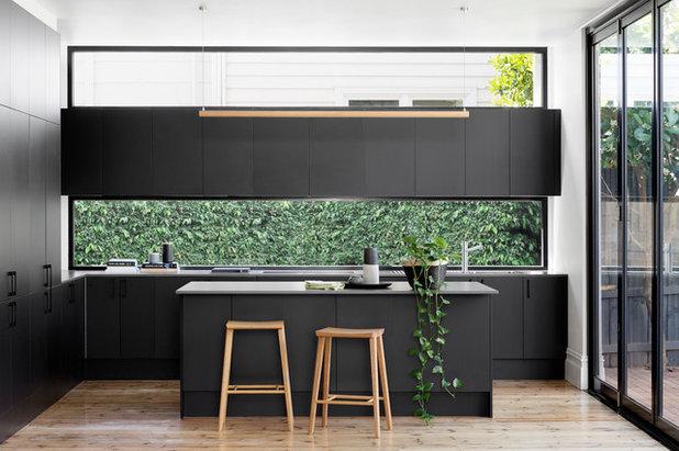 Contemporary Kitchen by F3 Studio