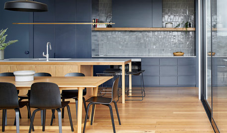 Room of the Week: Kitchen Contracts for Couple, Caters for Crowds