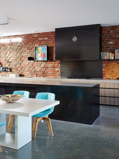 Contemporary Kitchen by Jolson