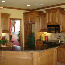 Traditional Kitchen by Tranquility Homes