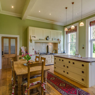 Green And Cream Kitchen Ideas And Photos Houzz