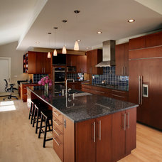 Contemporary Kitchen by Angelini and Associates Architects