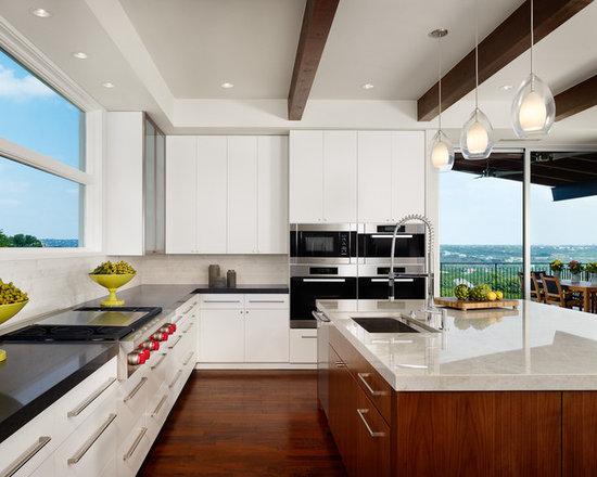 contemporary kitchen island | houzz