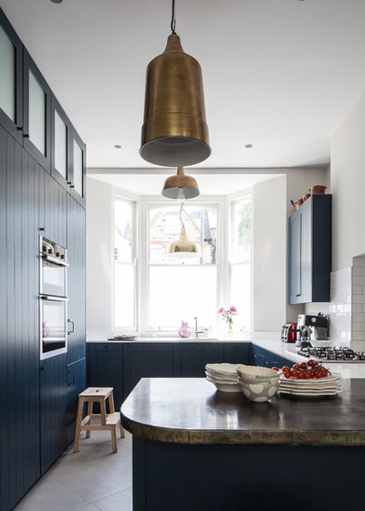 Transitional Kitchen by Trevor Brown Architect