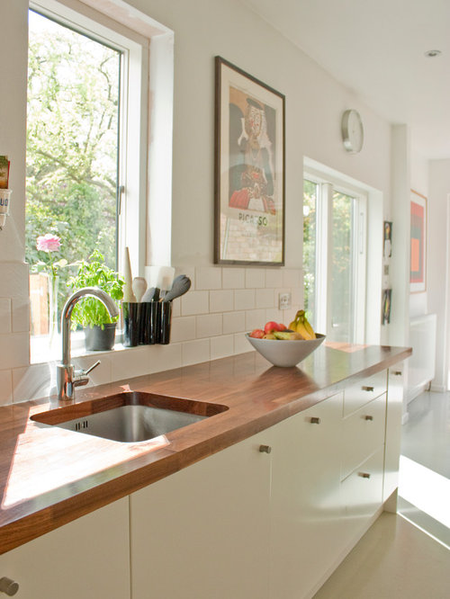 Tile Around Kitchen Window Home Design Ideas, Pictures, Remodel and Decor