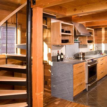 Houseboat -- a Seattle Floating Home Renovation