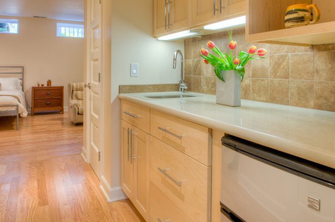 Transitional Kitchen by HOUSEworks Design/Build General Contractor
