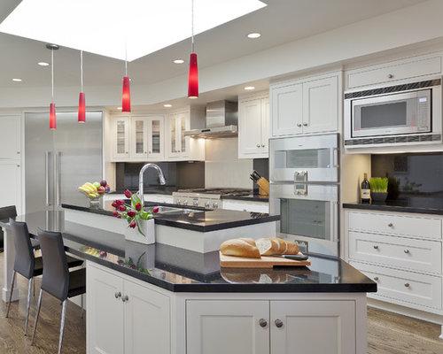 Soffit above cabinets houzz - Kitchen appliances san francisco ...