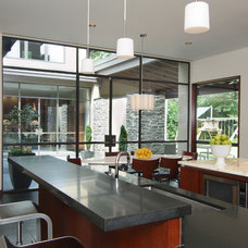 Contemporary Kitchen by Four Square Design Studio