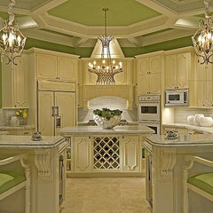 eclectic kitchen by CIH Design