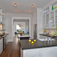 Traditional Kitchen by Four Square Design Studio