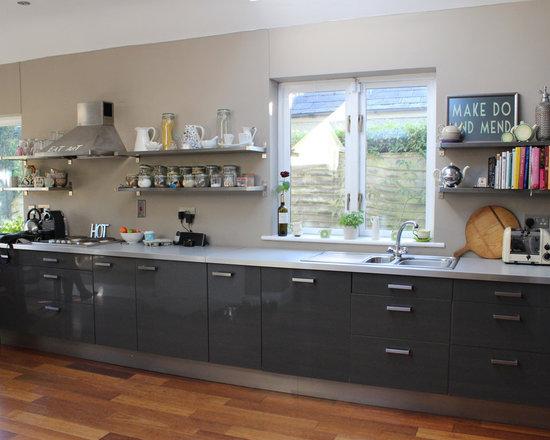 Ikea Kitchen Cabinets Gray gray ikea cabinets | houzz