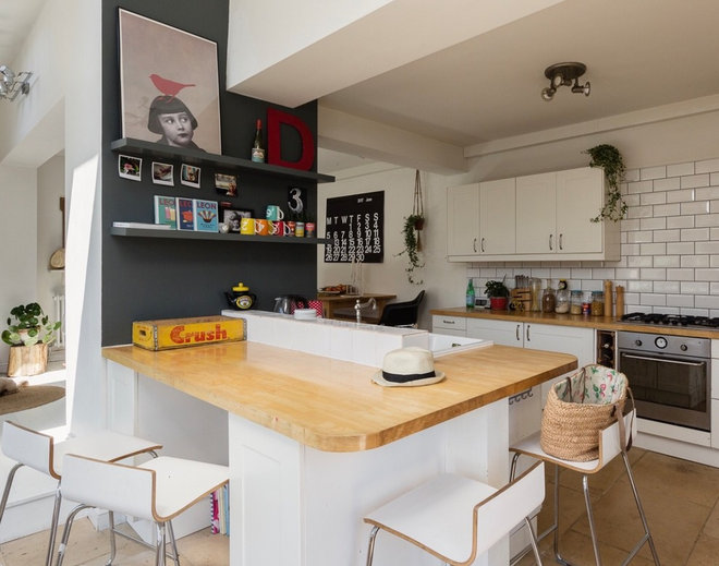 Eclectic Kitchen by Dee Campling