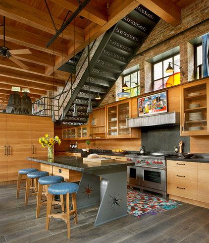 Contemporary Kitchen by Liederbach & Graham, Architects