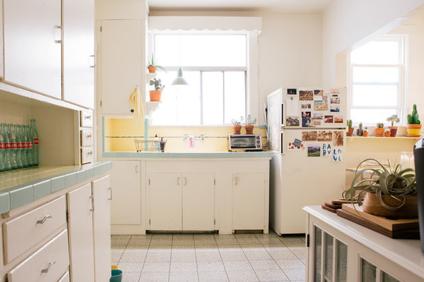 Eclectic Kitchen by Nanette Wong