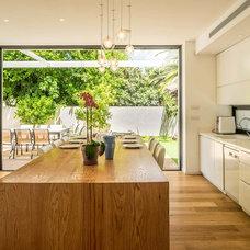 Modern Kitchen by Daniel Arev Architecture Studio