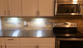 Howell's custom stainless steel countertops