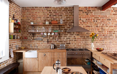 British Houzz: A Cool and Compact Loft-Style Revamp