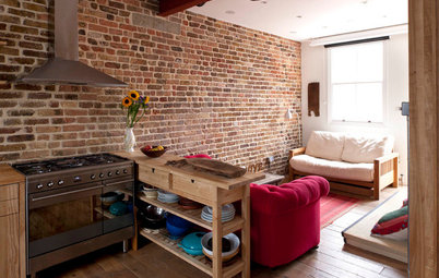 Houzz Tour: Industrial Style and Light in a London Apartment