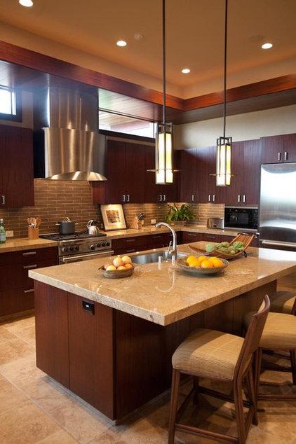Tropical Kitchen by Willman Interiors / Gina Willman, ASID