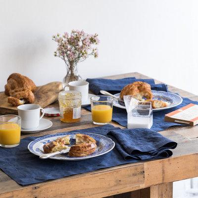 クラフツマン キッチン by Huddleson Linens