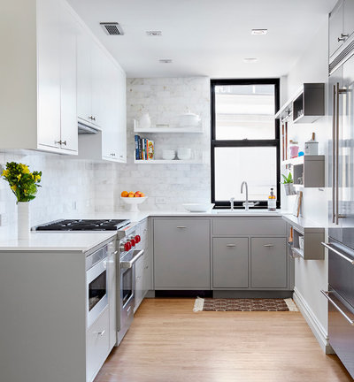 Contemporary Kitchen by Lauren Rubin Architecture