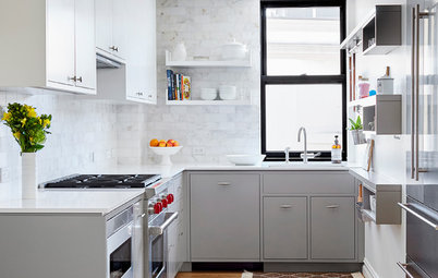 The 100-Square-Foot Kitchen: A Dark Space Sees the Light